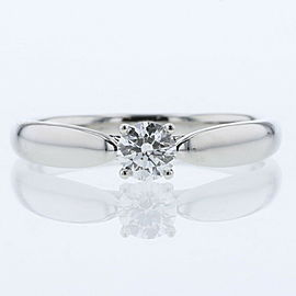 TIFFANY & Co 950 platinum/ diamond Harmony Ring