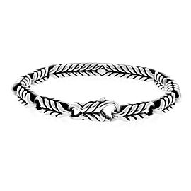 David Yurman 925 Sterling Silver 1.73ctw Diamond Bracelet