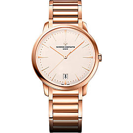 Vacheron Constantin Patrimony 4100U/110R-B180 18K Rose Gold with Opaline Dial 36mm Womens Watch