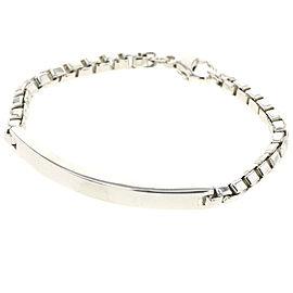 TIFFANY & Co. Silver Venetian link id bracelet
