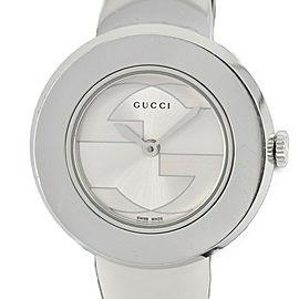 GUCCI U play 129.5 Silver Dial SS Quartz Ladies Watch