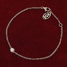 Cartier 18k pink gold Diaman Leger bracelet