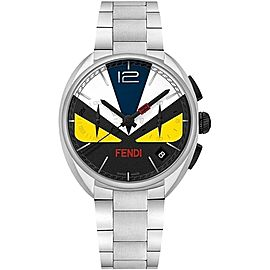Fendi F215011500 Stainless Steel & Multicolor Dial 40mm Mens Watch