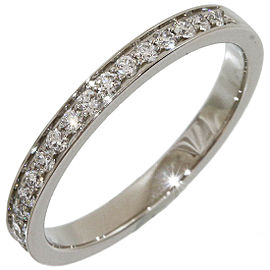 PIAGET Platinum Half Eternity Diamonds Band Ring
