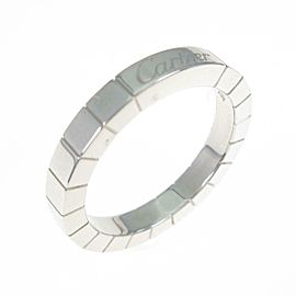 Cartier 18K White Gold Lanieres ring TkM-269