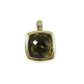 David Yurman Albion 18K Yellow Gold 925 Sterling Silver Citrine Pendant