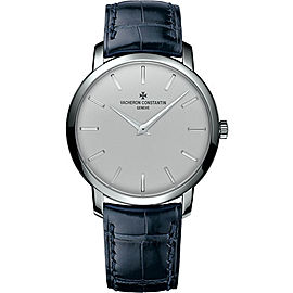 Vacheron Constantin Traditionnelle 43076/000P-9875 Platinum 950 with Silver Dial Automatic 41mm Mens Watch