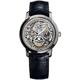 Vacheron Constantin Traditionnelle 43172/000P-9236 Platinum with Skeleton Dial 39mm Mens Watch