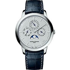 Vacheron Constantin Patrimony 43175/000P-B190 950 Platinum with Silver Dial Automatic 41 mm Mens Watch