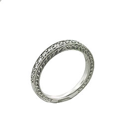 Scott Kay Platinum .34ct Diamond Ring Size 6.5