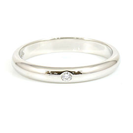 Cartier 950 Platinum, Diamond Marriage Band Ring CHAT-124