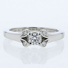 CARTIER Platinum/diamond Ballerina Ring TBRK-668