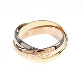 Cartier 18K Pink Gold/18K Yellow Gold/18K White Gold Trinity Classic model Ring TkM-240