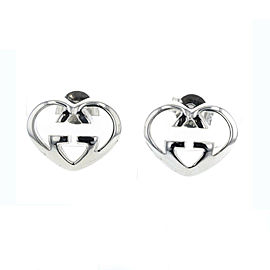 GUCCI Silver925 heart Pierce TBRK-411