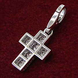 Cartier Diamond Cross Charm