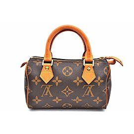 Louis Vuitton Monogram Mini Speedy Hand Bag M41534 LV A2670
