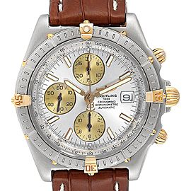 Breitling Windrider Cockpit Steel Yellow Gold Mens Watch B13355