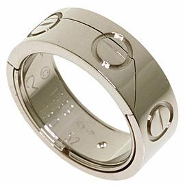CARTIER 18k White Gold Astro love ring