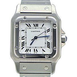 Cartier Santos Galbee 2319 Stainless Steel 29 mm Womens Watch