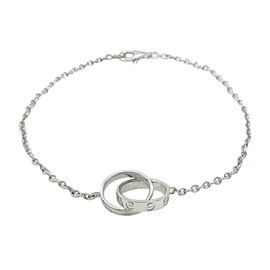 Cartier Love 18K White Gold Bracelet