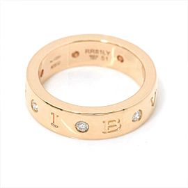 BVLGARI 18k pink gold Diamond Ring