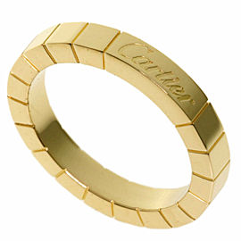 CARTIER 18k Yellow Gold Lanire Ring