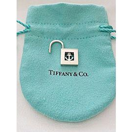 Tiffany & Co. Sterling Silver Nautical Anchor Padlock Pendant