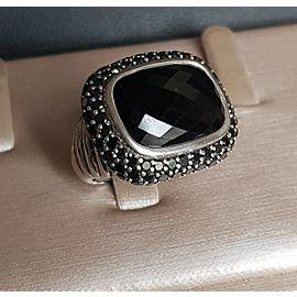 David yurman Waverly Limited-Edition Ring with Black Onyx and Black Diamonds