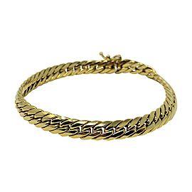 Unoaerre 14K Yellow Gold Cuban Link Bracelet