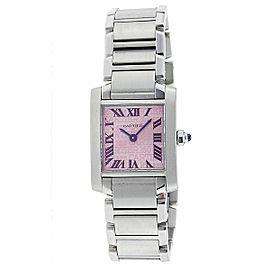 Cartier Tank Francaise W51008Q3 30mm Womens Watch