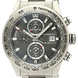 TAG HEUER Carrera Calibre 01 Chronograph Titanium Mens Watch CAR208Z
