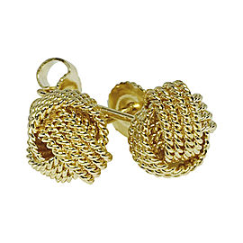 Tiffany & Co. 18K Yellow Gold Twist Knot Earrings