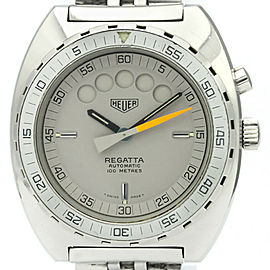 Vintage TAG HEUER Regatta Stainless Steel Automatic Mens Watch 134.603