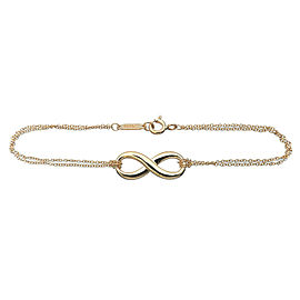 Tiffany & Co. 18k Yellow Gold Infinity Bracelet