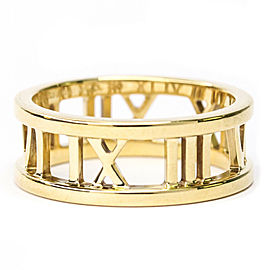 TIFFANY & CO. 18K Yellow Gold Open Atlas Ring