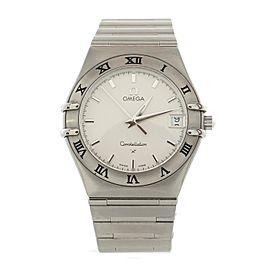 Omega Constellation 95 Quartz Watch Stainless Steel 33