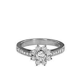 Tiffany & Co. Flora Ring Platinum and Diamonds