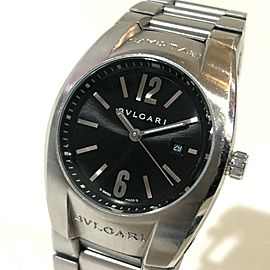 BVLGARI EG30S Stainlees Steel Elgon Watch