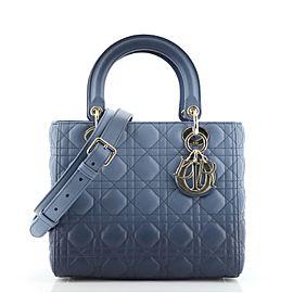 Christian Dior Lady Dior Bag Gradient Cannage Quilt Lambskin Medium
