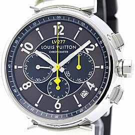 Louis Vuitton Tambour Q1141 Stainless Steel 41mm Mens Watch
