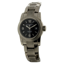 Girard Perregaux 8039 Lady F with Date 18K White Gold Womens Watch 29mm