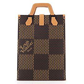 Louis Vuitton Nigo Tote Limited Edition Giant Damier and Monogram Canvas Mini