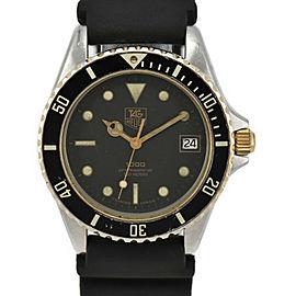 TAG HEUER 1000 980.020N black Dial Quartz Men's Watch
