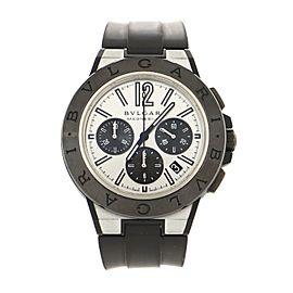 Bvlgari Diagono Magnesium Automatic Watch Ceramic and Rubber 42