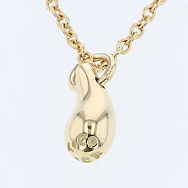TIFFANY & Co. 18k yellow Gold Teardrop Necklace