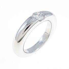 Cartier 18K White Gold Ellipse Ring