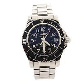 Breitling SuperOcean II 500M Chronometer Automatic Watch Stainless Steel 36