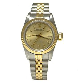 Rolex Oyster Perpetual 67193 24mm Womens Watch