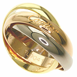 CARTIER 18K Pink Gold/18K Yellow Gold/18K White Gold Trinity Ring