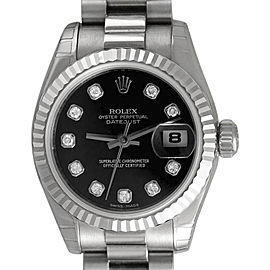 Rolex President Datejust 179179 26mm Womens Watch